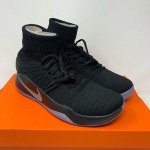 NEW Nike Hyperdunk 2016 Fk 'Blackout' Flyknit